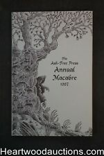 The Ash-Tree Press Annual Macabre by Patricia Wentworth Robb Suggs Art- High Gra