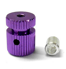 RC Receiver Alloy Antenna Pipe Column Stand Purple x 1