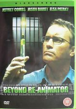 Beyond Re-Animator Jeffrey combs, jason barry, Elsa pataky Brand New and Sealed