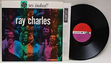 RAY CHARLES Yes Indeed! [Vinyl LP] Atlantic 8025 Beautiful Original Glossy Cover