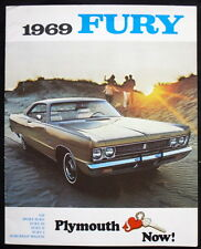 PLYMOUTH FURY SALES BROCHURE 1969 (CANADA) #PF69E