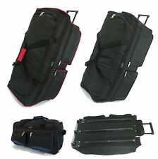 XXL Extra Large Travel Luggage Wheeled Trolley Holdall Suitcase Case Duffle Bag