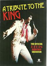 ELVIS PRESLEY - A Tribute To The King - Rare 1977 UK Magazine - FREE UK SHIPPING