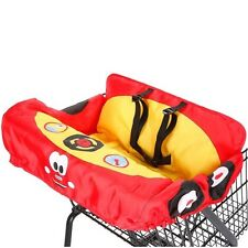 Little Tikes Cozy Coupe Shoppping Cart Cover Red & Yellow Car Design NEW