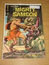 MIGHTY SAMSON #15 VG (4.0) GOLD KEY COMICS AUGUST 1968
