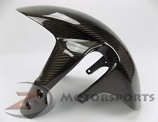 2006-2010 GSXR600 GSXR750 Front Tire Fender Wheel Fairing Cowl 100% Carbon Fiber