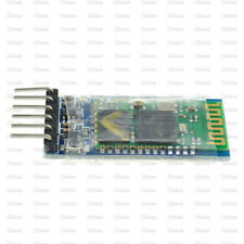 10PCS Wireless Serial 6 Pin Bluetooth RF Transceiver Module HC-05 RS232 TOP