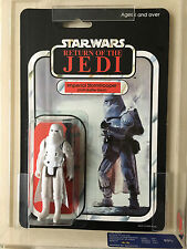 Star Wars ROTJ 65 Back Palitoy Hoth Stormtrooper UKG 95 Case Fresh 95 95 90 Subs