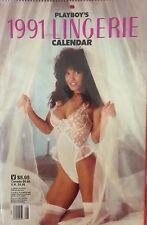 1991 PLAYBOY LINGERIE CALENDAR / NEVER OPENED  - IN FACTORY PLASTIC