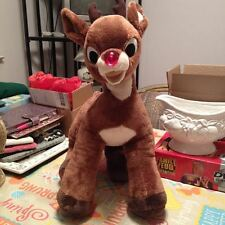 """Build A Bear Workshop Musical RUDOLPH THE RED NOSE REINDEER Soft Plush LARGE16"""""""