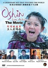 Oshin Live Action Movie Japanese DVD with English Subtitle