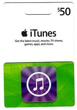 $50 US Apple iTunes Gift Card Certificate Voucher | American USA iTunes Code
