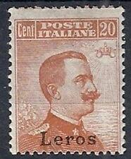 1921-22 EGEO LERO EFFIGIE 20 CENT MH * - RR12393