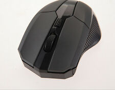 2.4 GHz Wireless Optical Mouse Mice + USB 2.0 Receiver for PC Laptop Black XS2