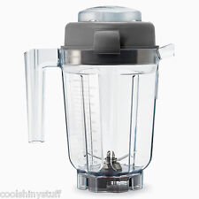 Vitamix 32oz Wet Blade Container w/Lid VM 15842 NEW in open box pitcher jar jug
