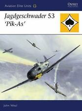 WW2 German Luftwaffe Jagdgeschwader 53 'Pik-As' 25 Osprey Reference Book