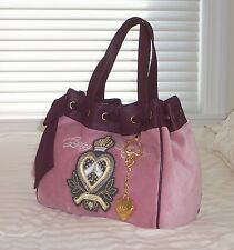 NWT Juicy Couture Daydreamer Heart Crown Tote Bag