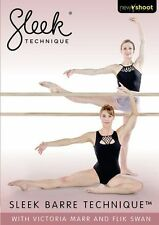 SLEEK BARRE TECHNIQUE BALLET STYLE WORKOUT DVD EXERCISE NEW SEALED