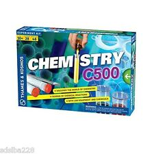NEW Thames and Kosmos Chemistry C500 set lab science experiments