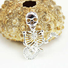 Fashion New 925sterling solid Silver skull Necklace Pendant ( no chain)Y325
