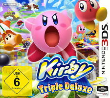 Nintendo 3 Ds Gioco: Kirby Triple Deluxe 3ds NUOVO & OVP