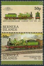 1872 NER Class 901 2-4-0 (North Eastern Railway) Train Stamps (Bernera)