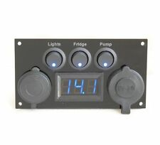 Vauxhall Vivaro Camper Van Switch Panel USB VW Transporter Van Conversion