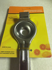 Kitchen & Bar Stainless Steel Lemon Orange Lime Squeezer Juicer Hand Press Tool
