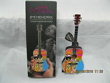 jimi hendrix axe heaven mini 1:4 scale guitar miniature guitar acoustic