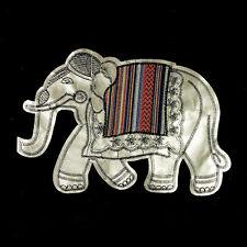 Large Elephant Sew On Patch Badge Bag Jeans T-shirt Handcraft Applique DIY