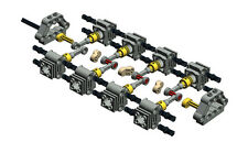 Lego Technic Parts, Engine Motor 8 Cylinder