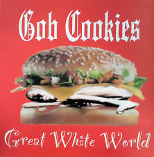 GOB COOKIES Great white world LP (Vinyl)