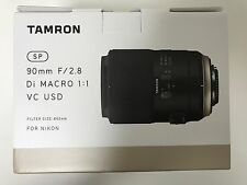 NEW TAMRON SP 90mm F2.8 Di MACRO 1:1 VC USD F017 (90 mm F/2.8) for Nikon*Offer