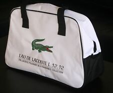 Lacoste Parfums L.12.12 Bag White Sport Weekend Across Body Gym Travel Casual
