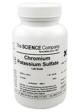 NC-6325  Chromium Potassium Sulfate, 100g,  Glazes, Crystal Growing, Photo
