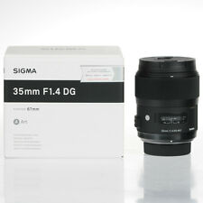 New Sigma ART 35mm F1.4 DG HSM lenses for Nikon + Cleaning Kit + Cleaning Cloth
