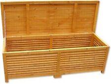 Cassapanca baule box in legno per esterno giardino  L 140x52xh46cm