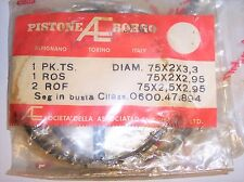 DUCATI BORGO PISTON RINGS VINTAGE NOS MADE IN ITALY 75mm