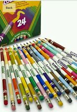 Crayola Erasable Colored Pencils, 3.3mm Lead 24 Pack Pre-Sharpened  68-2424