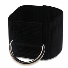 Ankle Strap D-ring Leg Pulley Weight Lifting Gym Cable Attach Training Fitness