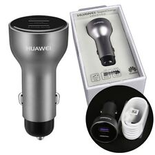 Original SuperCharge 4.5V 5A Dual USB Car Charger for Huawei Mate 9 Mate 9 Pro