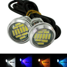 15W 12 X LED Eagle Eye Light Car Parking Signal Lamp DRL Reverse Backup Light