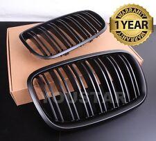 x2 TWIN SLAT M Performance MATT BLACK Grills for BMW E70 E71 E72 X5 X5M X6 X6M