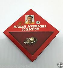 MSC Collection # Michael Schumacher, Kart Pin aus massivem 925er Silber in OVP #