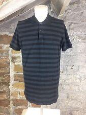 Men's CALVIN KLEIN a righe Polo T Shirt Tee CK USA Taglia XXL Nuovo di zecca Casual (792)