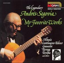 Andres Segovia, The Segovia Collection, Vol. 3: My Favorite Works, Excellent