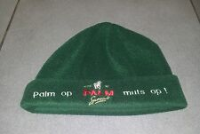 BONNET POLAIRE OFFICIEL VERT BIERE BEER BIER BELGE CHEVAL PALM NEUF RARE