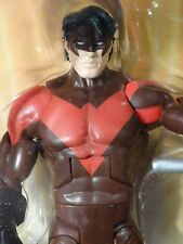 DC UNIVERSE CLASSICS -- NIGHTWING -- RED RENEGADE VARIANT MIP ! dcuc All Stars