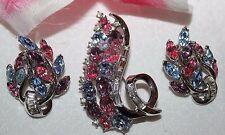 STRIKING CROWN TRIFARI SET FLAWLESS WITH NO WEAR!!!!SPARKLE AND LOOKS UNUSED