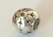 Authentic Pandora Sterling Silver SNOWFLAKE  Bead / Charm
